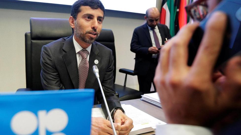 وزير الطاقة الإماراتي يتوقع أن يبلغ متوسط سعر النفط هذا العام 70 دولاراً للبرميل