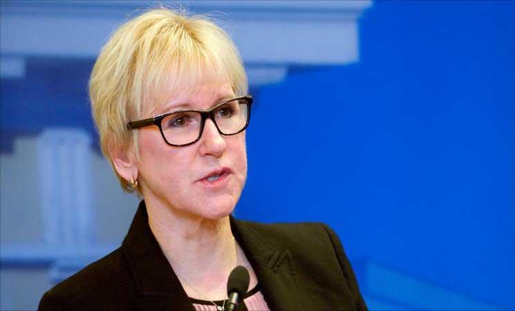 السويد: مسؤولية واشنطن كبيرة في الأحداث الأخيرة بفلسطين