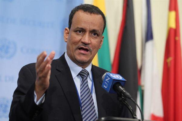 ولد الشيخ يقدم احاطته لمجلس الأمن ويطالب بتسليم ميناء الحديدة لايقاف التهريب وعرقلة الإغاثة