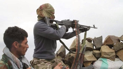 قوات الشرعية تسيطر على الجزء الأكبر من معسكر خالد